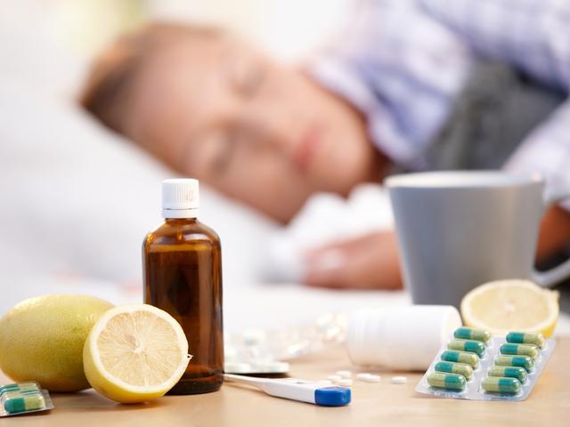 gripp va shamollash