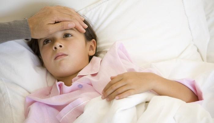 bolalarda gipertermik sindrom